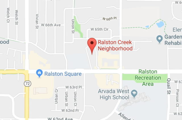 Map of Ralston Creek Neighborhood